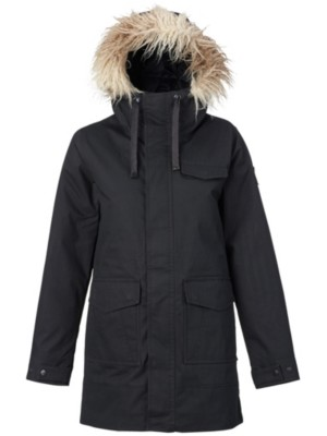 Burton Merriland Jacket true black wax Naiset