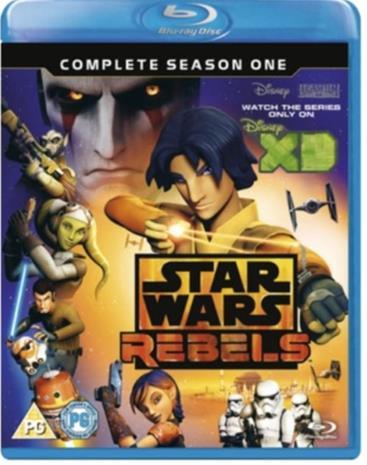 Star Wars Rebels: Kapina nousee (Spark of Rebellion, Blu-Ray), TV-sarja