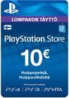 Playstation Network Card, PSN-kortti 10 EUR