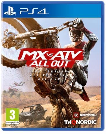 MX vs. ATV - All Out, PS4-peli