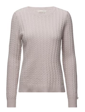 ODD MOLLY Ribbey Sweater LIGHT ROSE, Naisten paidat, puserot, topit, neuleet ja jakut