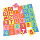 knorr® toys Palapelimatto, aakkoset ja numerot, 36-osainen
