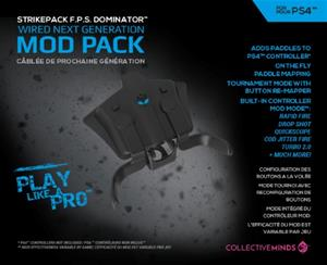Strikepack FPS Dominator Controller Adapter, PS4-ohjainadapteri