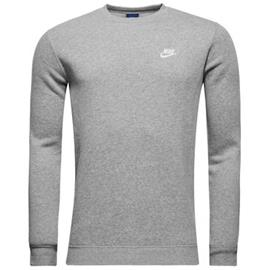 Nike Collegepaita NSW Crew Fleece - Harmaa Valkoinen f7d566c2da
