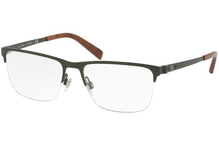 Ralph Lauren RL5097 9005, Vihreä, Materiaali Metalli, Miesten silmälasit