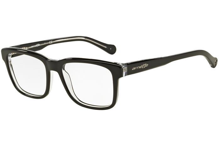 Arnette Output AN7101 1019, Musta, Materiaali Muovi, Miesten silmälasit