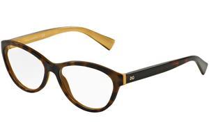 Dolce & Gabbana DG3232 2956, Ruskea, Materiaali Muovi, Naisten silmälasit