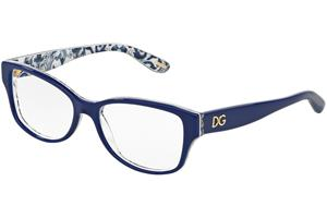 Dolce & Gabbana Almond Flowers Collection DG3204 2992, Sininen, Materiaali Asetaatti, Naisten silmälasit