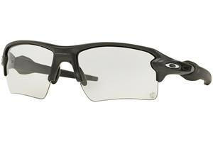 Oakley Flak 2.0 XL OO9188-16 Photochromic, Musta, Materiaali Muovi, Miesten aurinkolasit