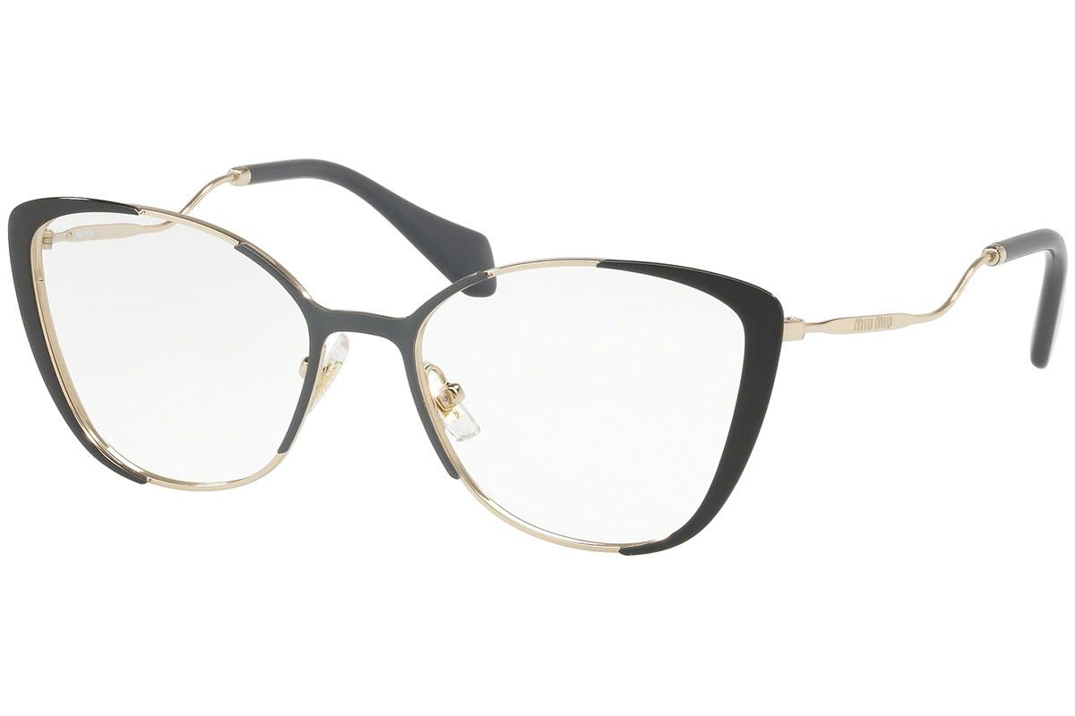 Miu Miu MU51QV VYD1O1 Kulta Materiaali Metalli Naisten silmälasit Silmälasit 92c39b9ea2