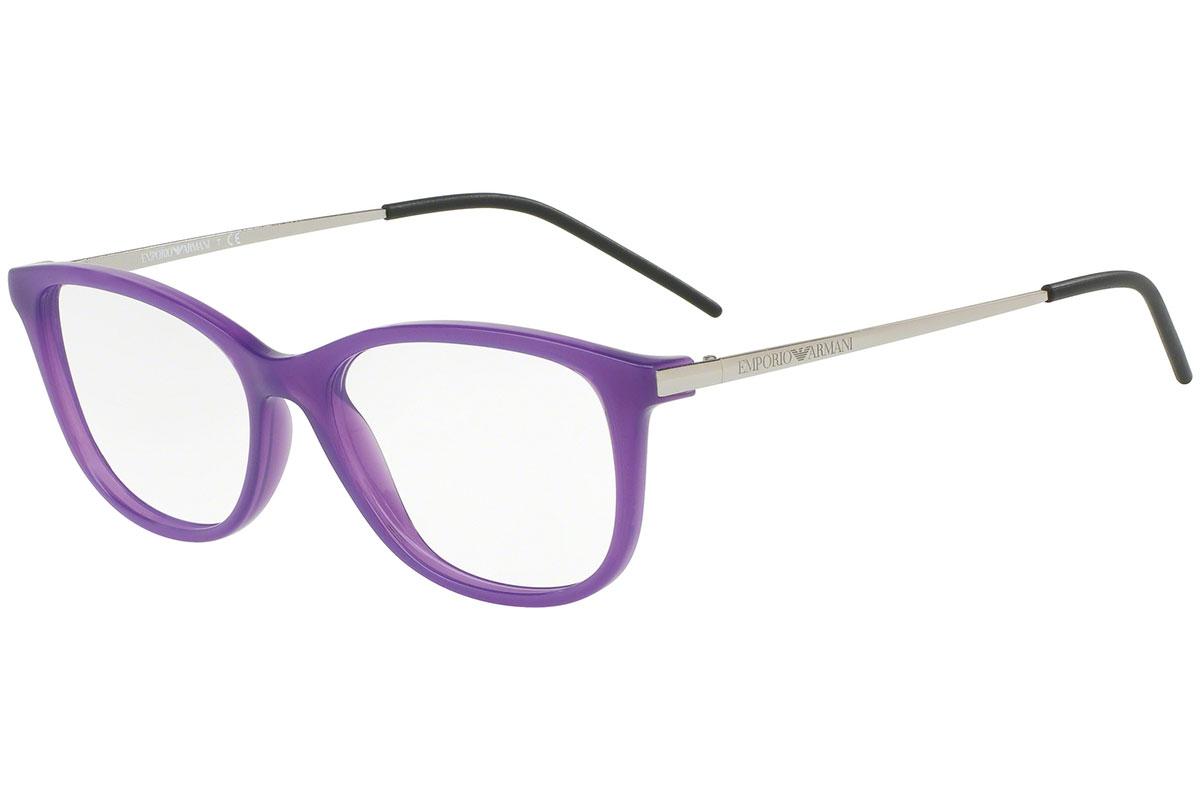 Emporio Armani EA3102 5564 Liila Materiaali Muovi Naisten silmälasit ... 36164f59dc