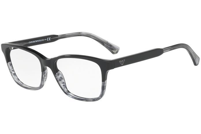 Emporio Armani EA3121 5566 Musta Materiaali Muovi Naisten silmälasit ... e0b6014108