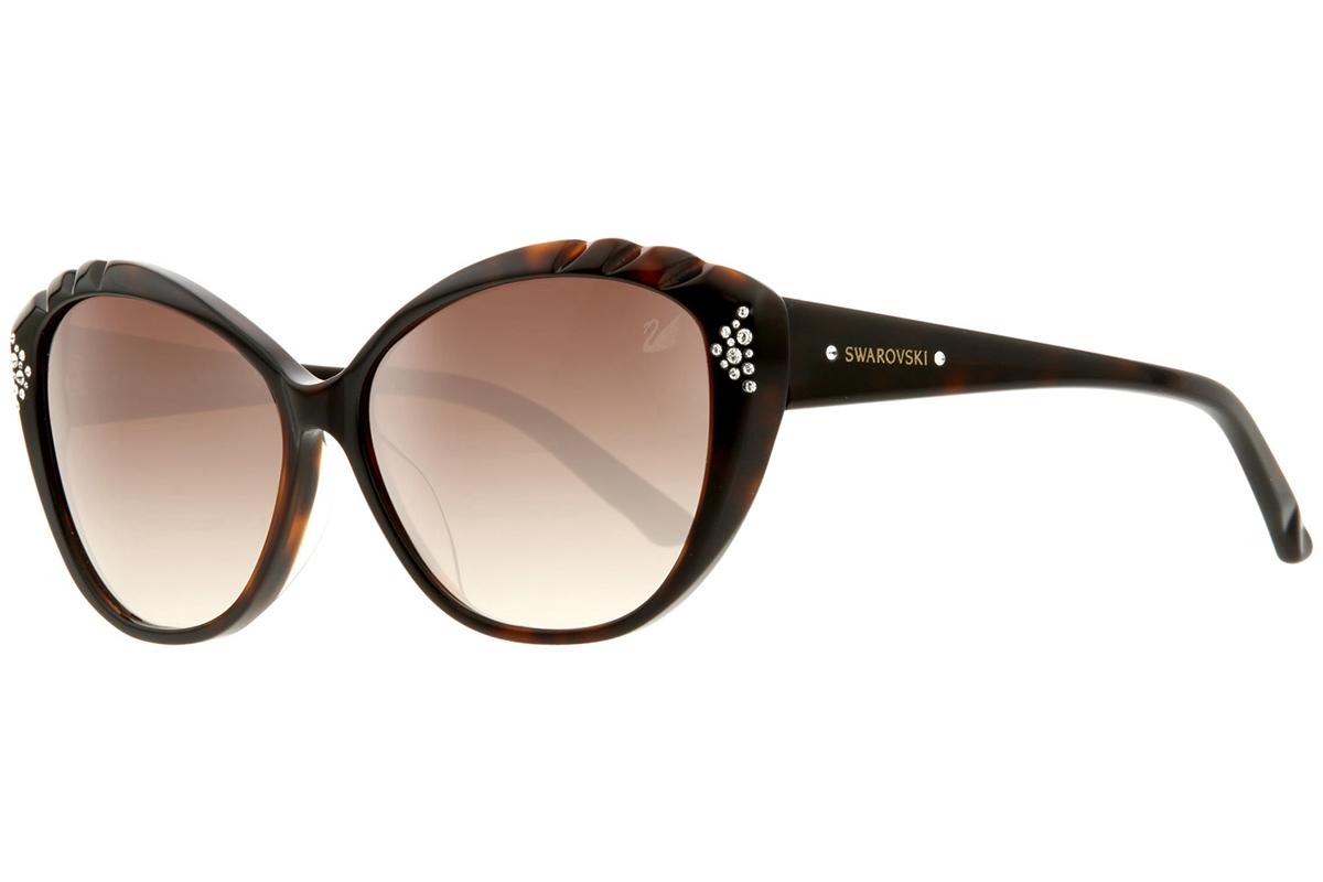 Swarovski SK9056 52F Ruskea Materiaali Muovi Naisten aurinkolasit Korut  rannekellot lompakot ja aurinkolasit 315c210b07
