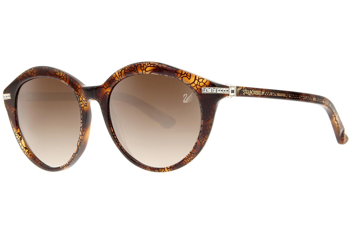 Swarovski SK0070 56F Ruskea Materiaali Muovi Naisten aurinkolasit Korut  rannekellot lompakot ja aurinkolasit b685dceb33