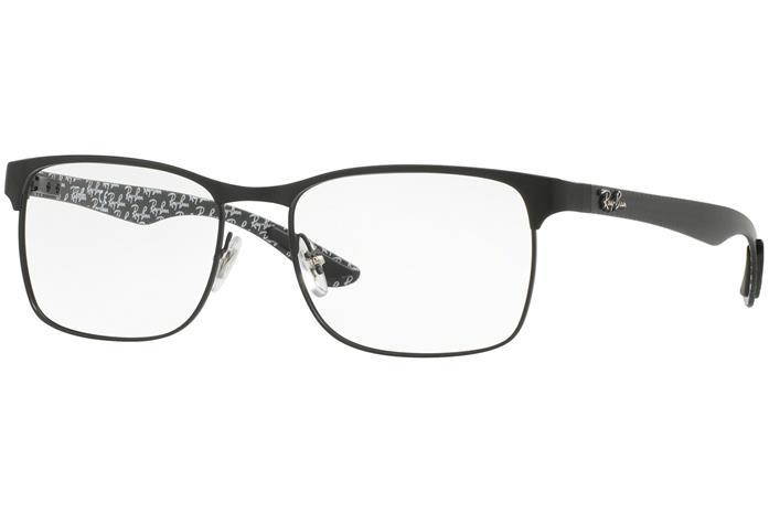 Ray-Ban RX8416 2503, Musta, Materiaali Metalli, Miesten silmälasit