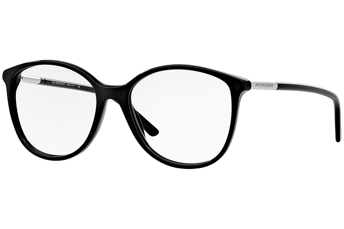 Burberry BE2128 3001 Musta Materiaali Asetaatti Naisten silmälasit  Silmälasit a819326137