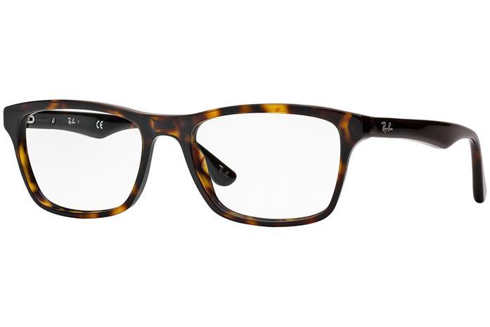 Ray-Ban Highstreet Square RX5279 2012, Havana, Materiaali Asetaatti, Miesten silmälasit