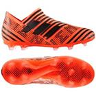adidas Nemeziz 17+ 360Agility FG/AG Pyro Storm - Oranssi/Musta/Punainen Lapset