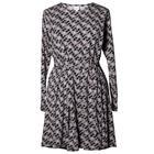 Speakeasy Dress Print Midnight Blue