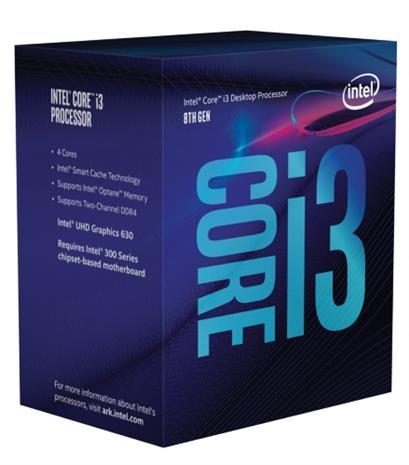 Intel Core i3-8100, prosessori