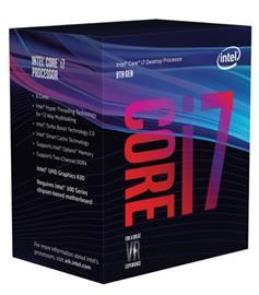 Intel Core i7-8700, prosessori