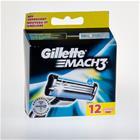 Gillette Mach3 blades 12 piece