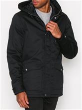 Solid Jeril Jacket Takit Black