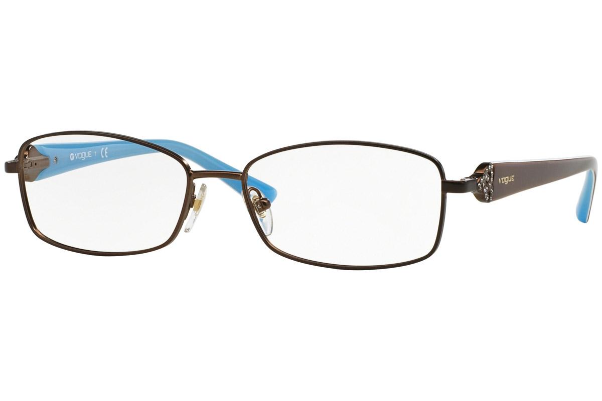 Vogue VO3845B 934S Ruskea Materiaali Metalli Naisten silmälasit ... 48740f21fc