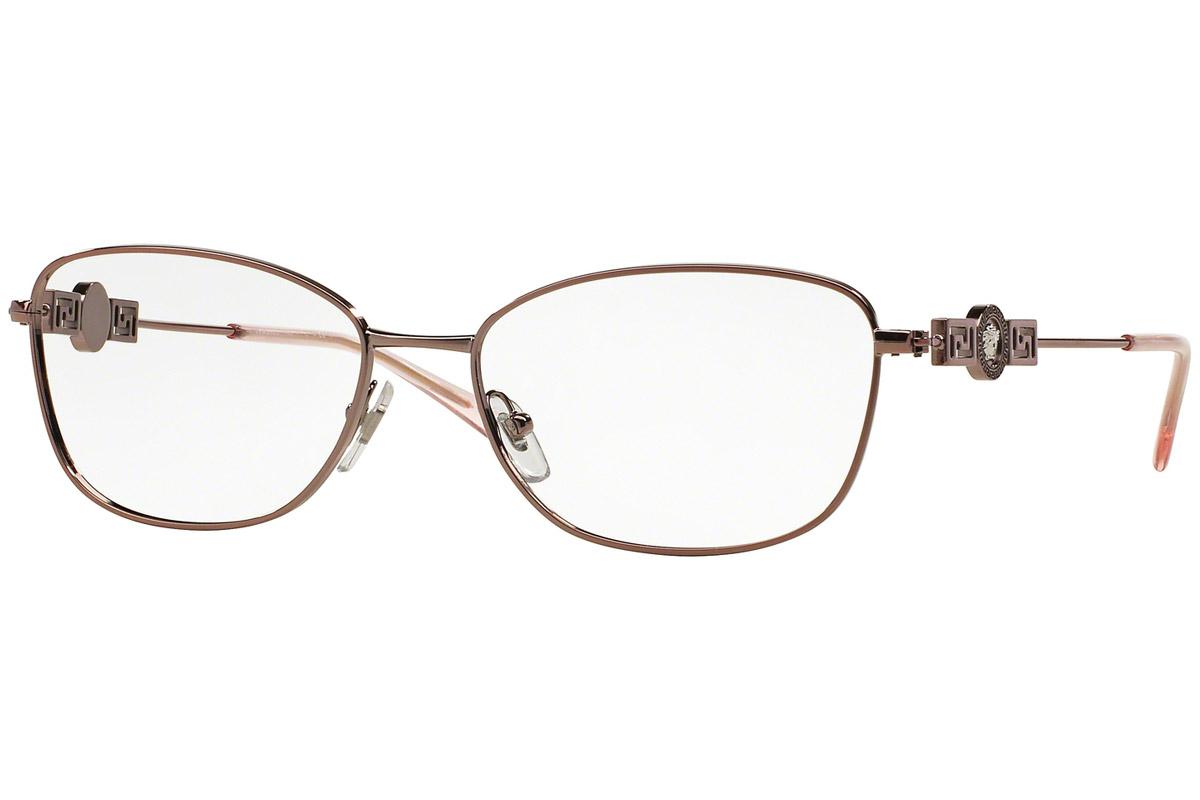 Versace VE1231 1333 Ruskea Materiaali Metalli Naisten silmälasit ... 9258364d22
