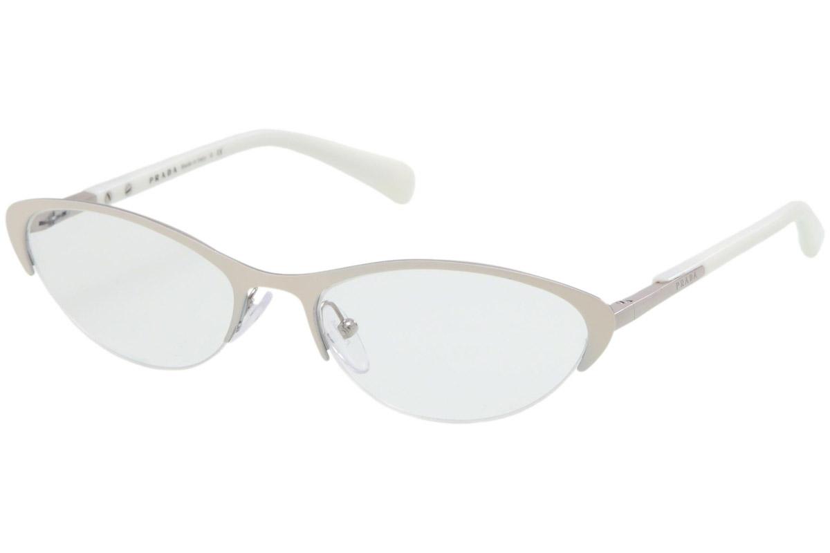Prada PR54PV LAR1O1 Valkoinen Materiaali Metalli Naisten silmälasit ... 2a363f7ac8