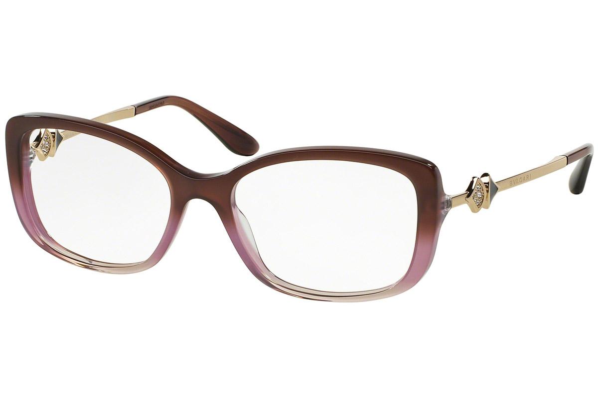 Bvlgari BV4107B 5361 Liila Materiaali Muovi Naisten silmälasit ... a6b9505363