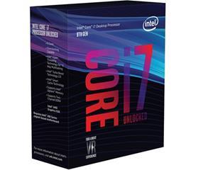 Intel Core i7-8700K, prosessori
