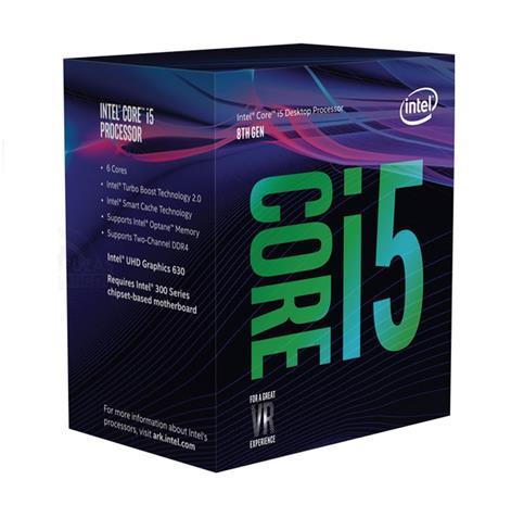 Intel Core i5-8400, prosessori