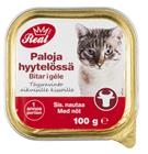 Real Cat Kissanruoka 100g naudanliha