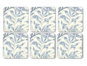Pimpernel Willow Bough Lasinalunen 6 kpl 10,5 x 10,5 cm Sininen