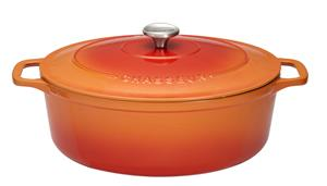 Chasseur Pata Ovaali 5.6 L Valurauta Flame Orange