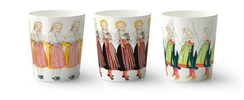 Design House Stockholm Elsa Beskow Three Girls Muki 3 kpl 28 cl