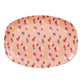 Rice Lautanen 30 x 22 cm Coral Dapper Dot