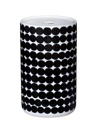 Marimekko Siirtolapuutarha Purkki Kannella 1.3 L Valkoinen/Musta