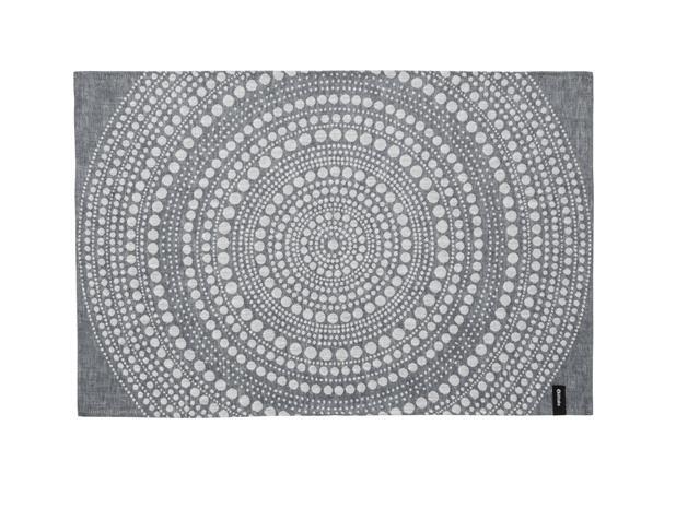 Iittala Kastehelmi Keittiöpyyhe 47x70 cm Tummanharmaa