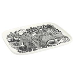 Marimekko Oiva/Siirtolapuutarha, lautanen 12 x 15 cm