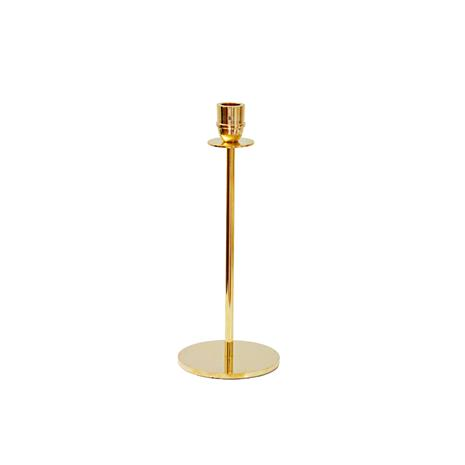 Hilke Collection Luce Del Sole Kynttilänjalka 30 cm Messinki