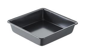GastroMax Kakkuvuoka 1.4 L Neliö Musta