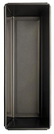 GastroMax Pitkovuoka 29x12 cm 1.3 L Musta