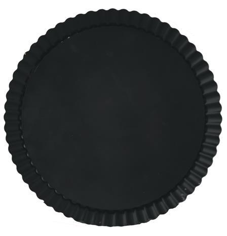 GastroMax Irtopohjavuoka Piirakka 28 cm Musta
