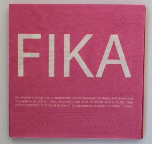 I Love Design FIKA Servetti Roosa
