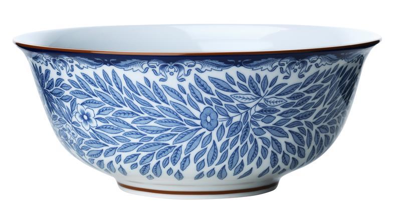 Rörstrand Ostindia Floris Tarjoilukulho 21 cm Sininen