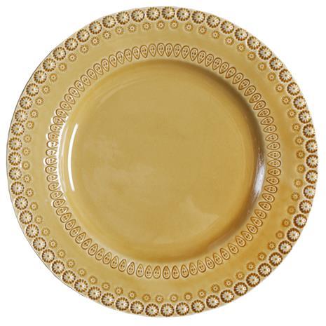 PotteryJo Daisy Tarjoilulautanen 35 cm Sinapinkeltainen
