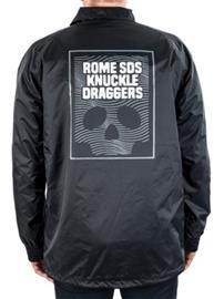 Rome Coach's Jacket black Miehet