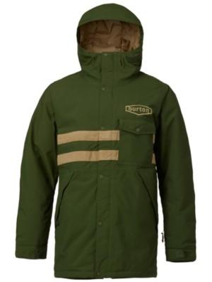 Burton Hoosick Parka Jacket rifle green / kelp Miehet